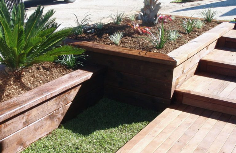 Landscaped Planter Boxes