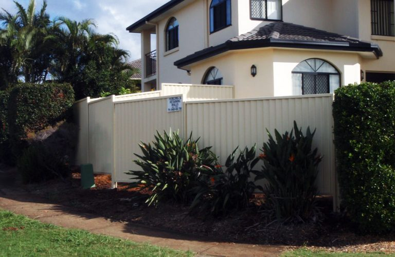 Colorbond Fencing with Quality and Class