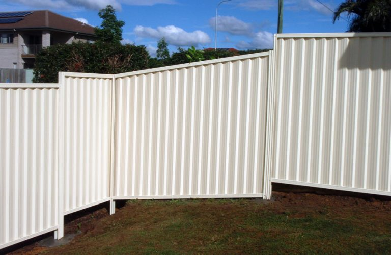 Private Colorbond Fencing