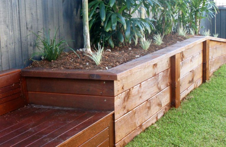 Timber Planter Boxes