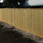 Overlapped Capped Fencing